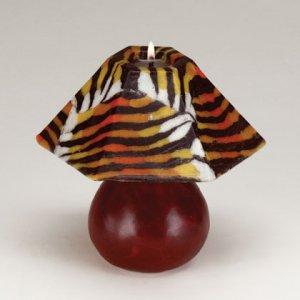 Mini Tiger Stripe Lamp Shade Candle