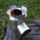 Black Rocket Stove