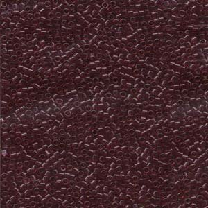 DB1312 Miyuki Delica 11o Wine Dyed Transparent Seed beads 15gr (SB919)