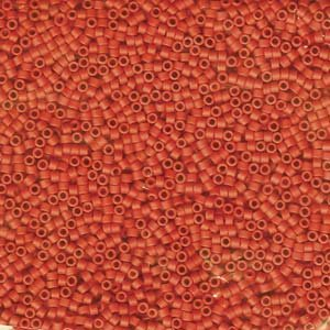 DB795 Miyuki Delica 11o Coral Opaque Matte Seed beads 15gr (SB148)