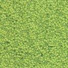 DB733 Miyuki Delica 11o Chartreuse Opaque Seed beads 15gr (SB960)