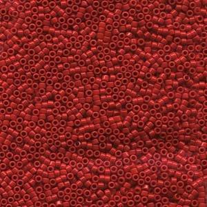 DB723 Miyuki Delica 11o Dark Cranberry Opaque Seed beads 15gr (SB956)