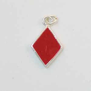 Diamond Card Suit Charm (PC496)