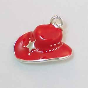 Red Hat with Silver Star Charm (PC450)