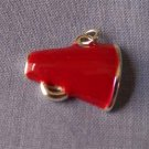 Red Megaphone Sports Charm (PC532)