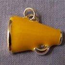 Yellow Megaphone Sports Charm (PC535)