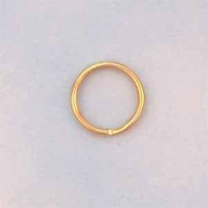 Split Rings 9mm Gold plated (FI1156)