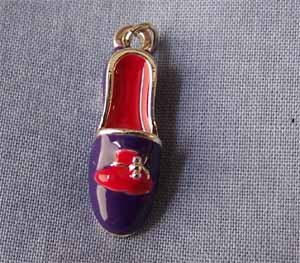 Red Hat Loafer Shoe Charm (PC443)