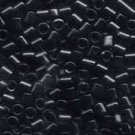 DBL010 Miyuki Delica 8o Black Seed beads 15gr (SB961)