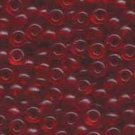 Miyuki Rocailles 6o Red-Orange Transparent Seed beads 15gr (SB974)