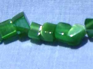 Green Cats Eye Chips (GL1075)