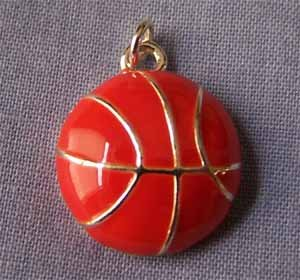Basketball Sports Charm (PC574)