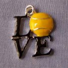 Love Tennis Sports Charm (PC593)