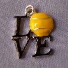 Love Tennis Sports Charm (PC593)