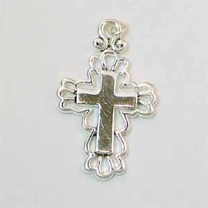 Cross Silver Pendant (PC470)