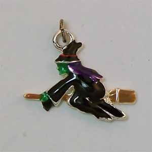 Halloween Witch Charm (PC490)