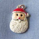 Santa Face with a Curly Beard Charm (PC564)