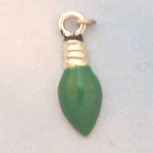 Christmas Light Green Charm (PC566)