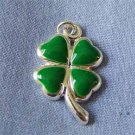 Four Leaf Clover Silver Charm (PC560)