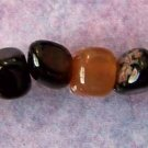 Black Agate Pebbles (GE107)