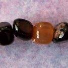 Black Agate Pebbles (GE107)