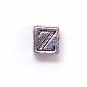 Alphabet Metal Bead - Z (ME631-Z)