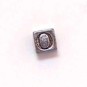 Alphabet Metal Bead - O (ME631-O)