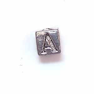 Alphabet Metal Bead - A (ME631-A)