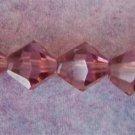 8mm Medium Purple Crystal Beads (GL210)