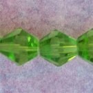 8mm Grass Green Crystal Beads (GL208)