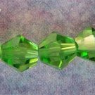 6mm Grass Green Crystal Beads (GL207)
