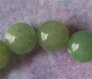 Green Aventurine 10mm Round Beads (GE1216)