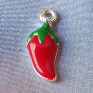 Red Jalapeno Charm (PC604)