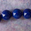 Mountain Jade Lapis Color 8mm Round Beads (GE1355)