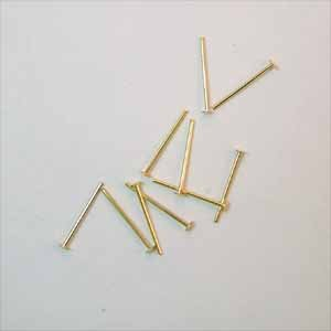Headpins 1/2 Inch Gold Plated (FI1165)