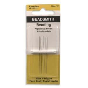 English Beading Needles Size 12 (TO755)