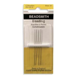 English Beading Needles Size 10 (TO754)