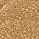DB099 Miyuki Delica 11o Lt Amber Transparent Luster Seed beads 15gr (SB909)