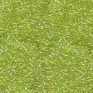 DB174 Miyuki Delica 11o Chartruese Transparent AB Seed beads 15gr (SB152)