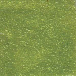 DB712 Miyuki Delica 11o Chartreuse Translucent Seed beads 15gr (SB1005)
