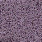 DB728 Miyuki Delica 11o Light Lavender Opaque Seed beads 15gr (SB131)