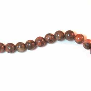 Oyster Opal Agate 6mm Round Beads (GE1412)