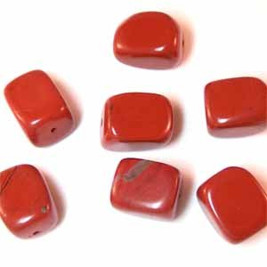 Red Jasper Large Nugget Beads (GE1215)