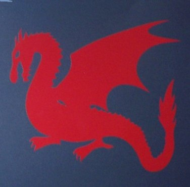 Large Dragon Sticker