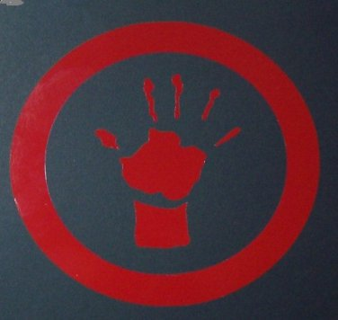 LLTS Hand Logo Sticker