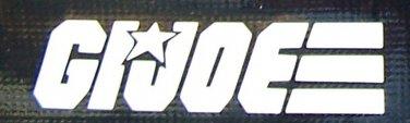 GI Joe logo sticker
