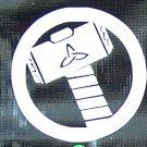 Thor logo sticker