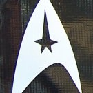 Star Trek Enterprise emblem sticker