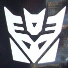 Tranformers Decepticon logo sticker