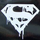 Death of Superman logo sticker